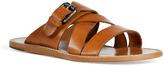 D&G Dolce & Gabbana Camel Multi Strap Sandals