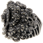 Ariella Collection Baroque Pave Ring