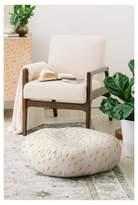 """Deny Designs Holli Zollinger Folka Bolt Floor Pillow (23"""") White"""