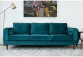 Everly Lindel Sofa Quinn Upholstery Color: Teal