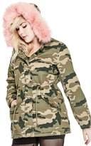 G by Guess Women's Suki Camo Jacket