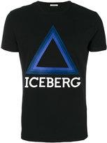Iceberg triangle logo T-shirt
