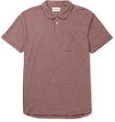 Oliver Spencer - Harper Slim-fit Striped Cotton-jersey Polo Shirt