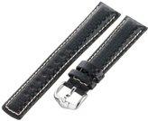 Hirsch 025920-50-20 20 -mm Genuine Calfskin Watch Strap