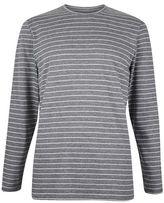 Burton Mens Common People Charcoal Striped T-Shirt*