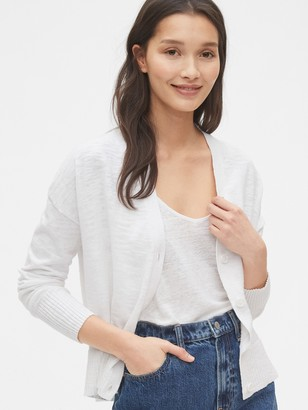 Gap Cropped Boxy Cardigan