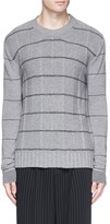 McQ Stripe wool-cashmere sweater