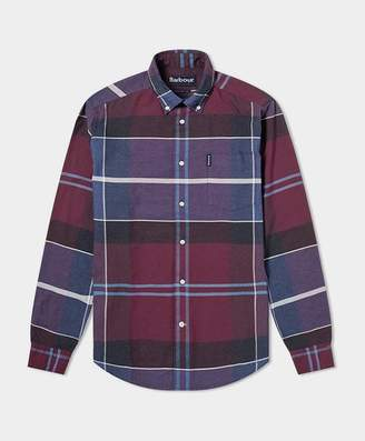 Barbour Cannich Check Shirt Merlot