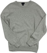 J.Crew J. Crew Collection Grey Cashmere Sweater