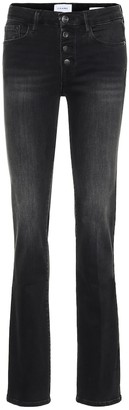 Frame Le Mini Boot high-rise jeans