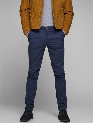 Jack and Jones Slim Fit Cotton Chinos