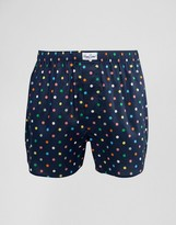 Happy Socks Woven Boxers Multi Dot Print