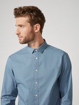 Frank + Oak The Andover Stretch Dress Shirt in Blue Stone