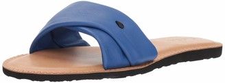 Volcom Women's Hawthorne Fashion Slide Sandal True Blue 7 B US