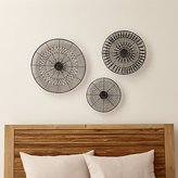 Crate & Barrel Intricate Circle Metal Wall Art