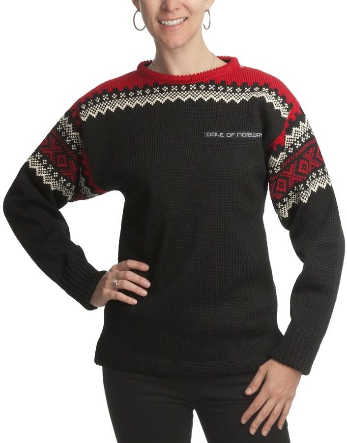 Dale of Norway Bislett Norwegian 2010 Team Sweater - New Wool (For Women)