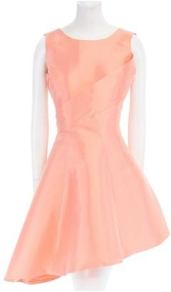 Christian Dior Orange Silk Dresses