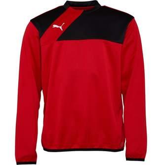 Puma Mens Esquadra Training Sweatshirt Red/Black