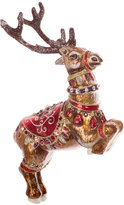 Jay Strongwater Dancer Reindeer Tree Decoration - Siam