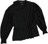 Laurèl Black Silk Top for Women