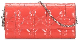 Christian Dior 2012 pre-owned Cannage clutch bag