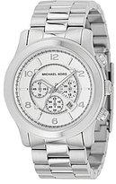 Michael Kors Men's Runway Silver-Dial Chronograph Watch