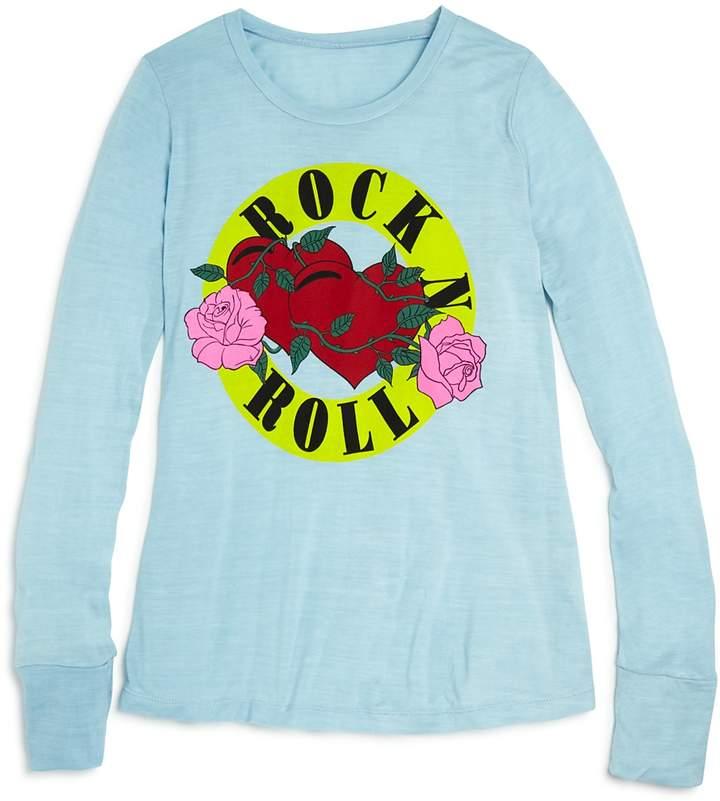 Flowers by Zoe Girls' Rock N Roll Tee