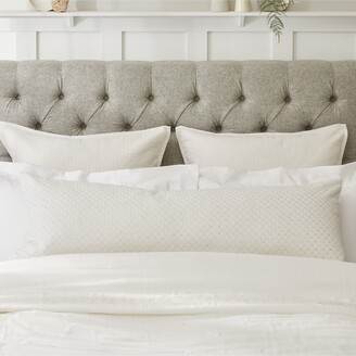 The White Company Sienna Bolster Pillow Cover
