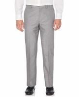 Cubavera Cotton Linen Herringbone Flat Front Pant