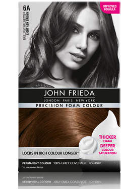 John Frieda Precision Foam Colour 6A Light Ash Brown