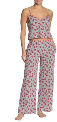 Cosabella Charming Printed Shirt & Pants 2-Piece Pajama Set