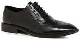 Jeff Banks Black Patent Leather Brogues