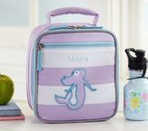 Pottery Barn Kids Fairfax Lavender Stripe Lunch Bags