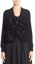 Junya Watanabe Women's Rosette Trim Sweater