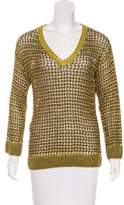 Missoni Knit Long Sleeve Sweater