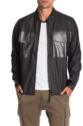 Rains Warrant Waterproof Colorblock Zip Jacket