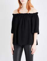 French Connection Evening Dew crepe top
