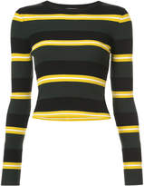 A.L.C. striped knit jumper