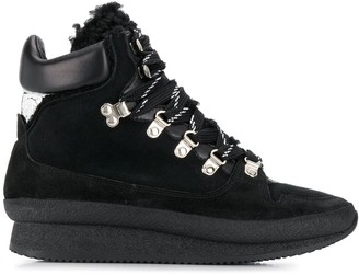 Isabel Marant Chunky Lace-Up Boots