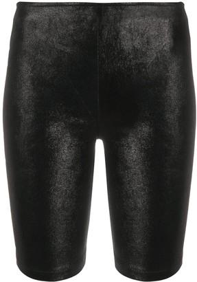 Manokhi High-Waisted Biker Shorts