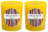 Qualitas Candles Daffodil Beeswax Candles (Set of 2) (6.5 OZ)