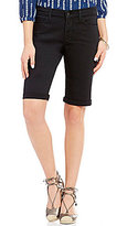 NYDJ Briella Roll-Cuff Bermuda Shorts