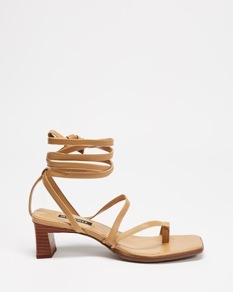 Senso Women's Brown Heeled Sandals - Raegan - Size One Size, 37 at The Iconic