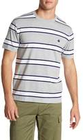 Brooks Brothers Jersey Framed Stripe Tee
