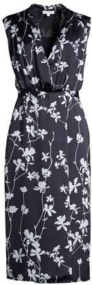 Equipment Femma Sleeveless Floral Sheath Dress