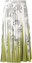 Valentino Shadows Of Delight skirt - women - Silk - 40