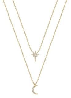 Ettika Celestial Crystal Necklace Set