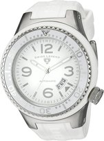 Swiss Legend Men's 11819A-02-WHT-W Neptune Automatic Dial Silicone Watch