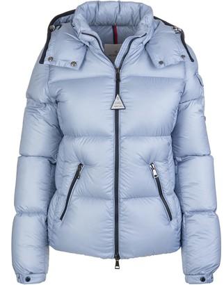 Moncler Woman Light Blue Fourmi Down Jacket