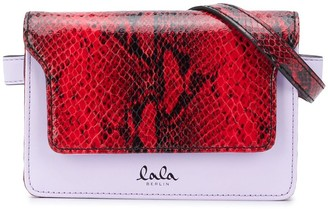 Lala Berlin Quilted cord style belt bag